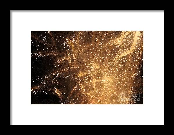Fireworks Framed Print featuring the photograph Fired Up by Debbi Granruth