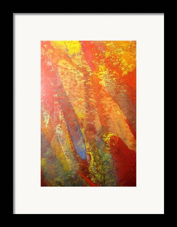 Fire Framed Print featuring the photograph Firedance by Belinda Consten