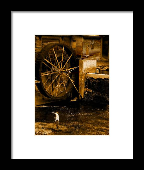 Fish Framed Print featuring the photograph First Catch by Jessica Burgett