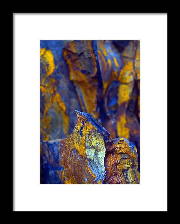 Texture Framed Print featuring the photograph First Cut is the Deepest by Skip Hunt