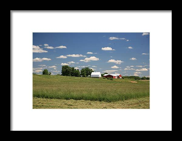 Farm Framed Print featuring the photograph First Cutting by Robert Pearson
