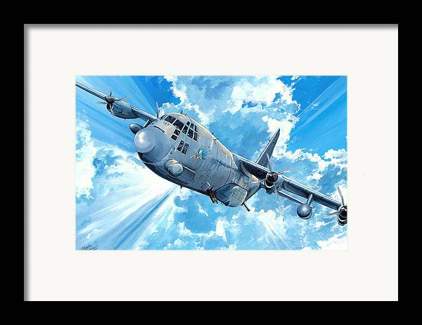 Air Force Framed Print featuring the painting First Lady by Charles Taylor