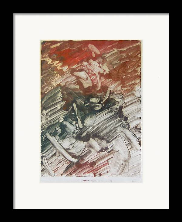 Love Framed Print featuring the painting First Love by John Toxey