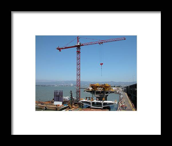Water Framed Print featuring the photograph First Segment by Jerry Patchin