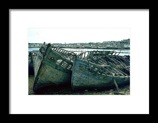 Fisher Boats Framed Print featuring the photograph Fisher Boats by Flavia Westerwelle