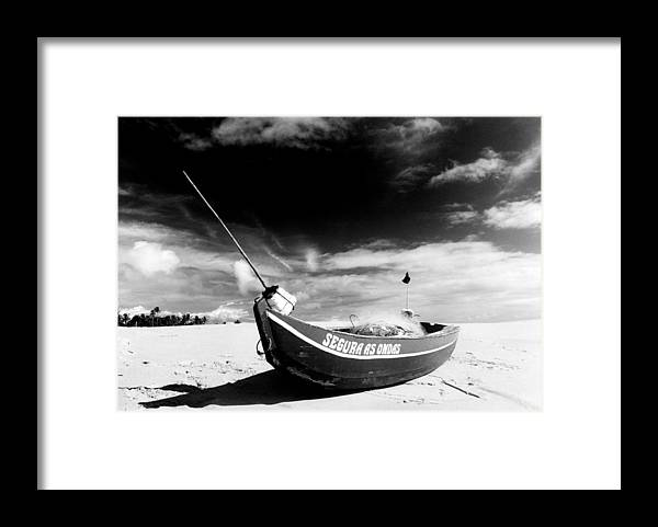 Fisherman Framed Print featuring the photograph Fisherman Boat by Amarildo Correa