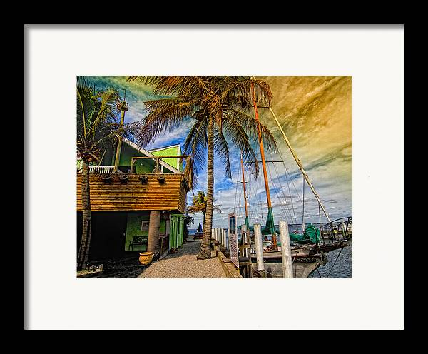 Seascape Framed Print featuring the photograph Fisherman Village by Gina Cormier