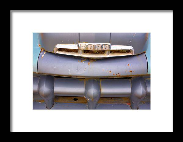 Vehicles Framed Print featuring the photograph Fix Or Repair Daily by Jan Amiss Photography