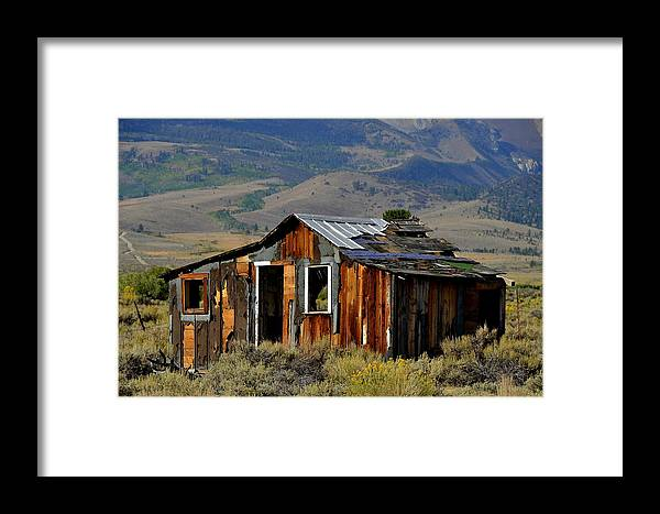 Landscape Framed Print featuring the photograph Fixer Upper by Duane Middlebusher