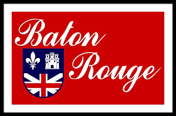 Flag of Baton Rouge by Bert Mailer