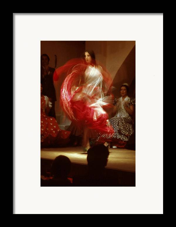Spain Framed Print featuring the photograph Flamenco Dancer In Seville by Carl Purcell