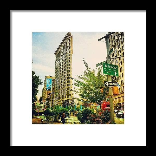 Nyc Framed Print featuring the photograph Flatiron by Luke Kingma