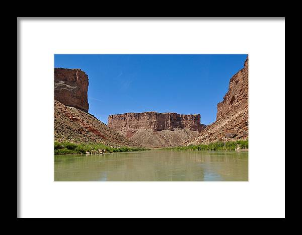 Grand Canyon Framed Print featuring the photograph Flattop by Barbara Stellwagen