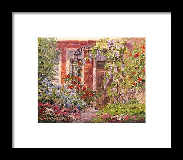 Impressionism Framed Print featuring the painting Flavor Of England by L Diane Johnson