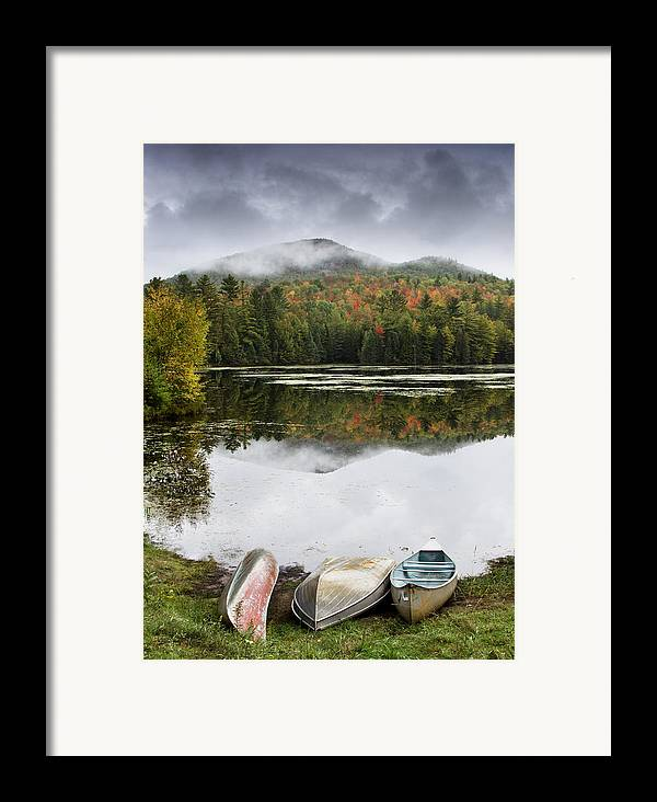 Adirondack Framed Print featuring the photograph Flavor Of The Adirondacks by Brendan Reals