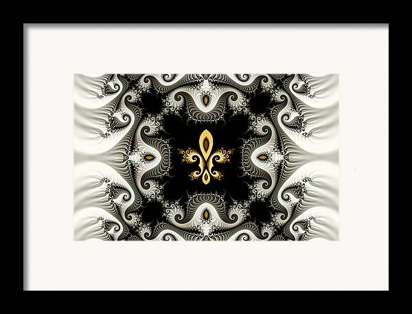 Fleur De Lis Framed Print By Frank Otillio And Stacy Molinary