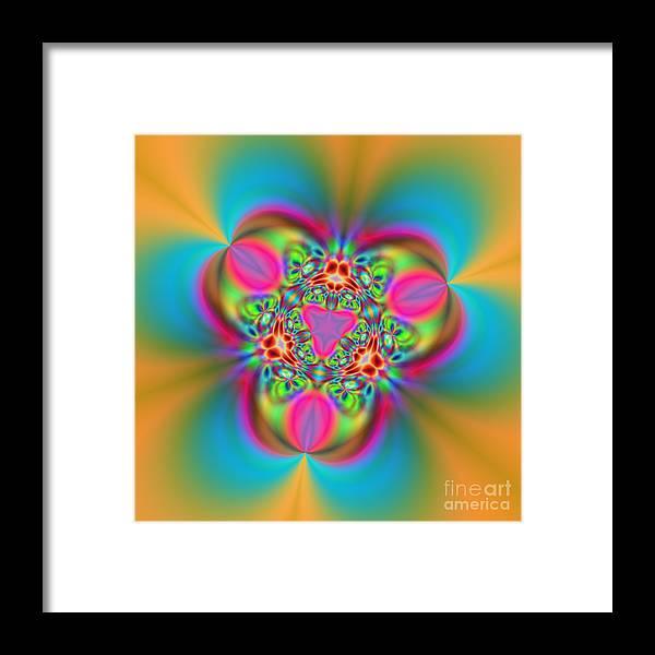 Zen Framed Print featuring the digital art Flexibility 18ba by Rolf Bertram