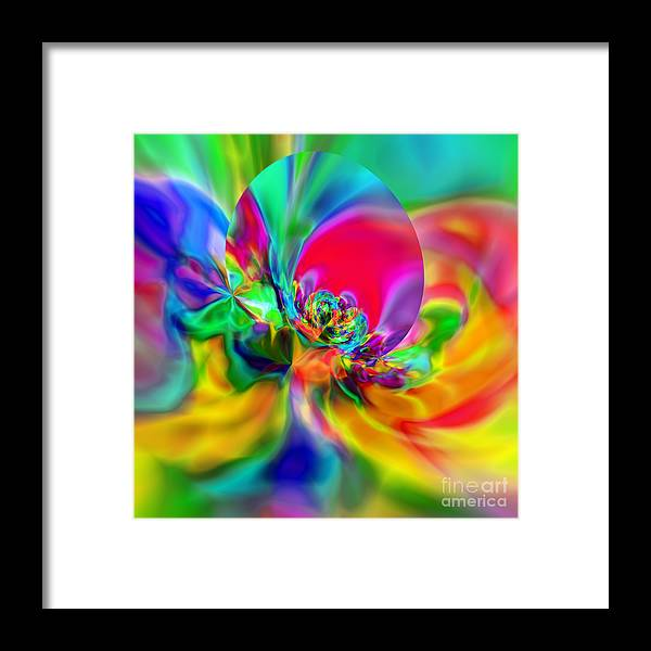 Zen Framed Print featuring the digital art Flexibility 20ca by Rolf Bertram