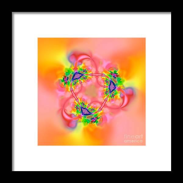 Zen Framed Print featuring the digital art Flexibility 26ba by Rolf Bertram