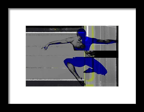 Ballet Framed Print featuring the photograph Flight by Naxart Studio