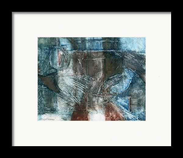 Flight Framed Print featuring the drawing Flight Passage by Kerryn Madsen- Pietsch