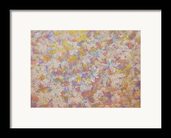 Flora' Romantica Framed Print featuring the painting Flora' Romantica by Don Wright