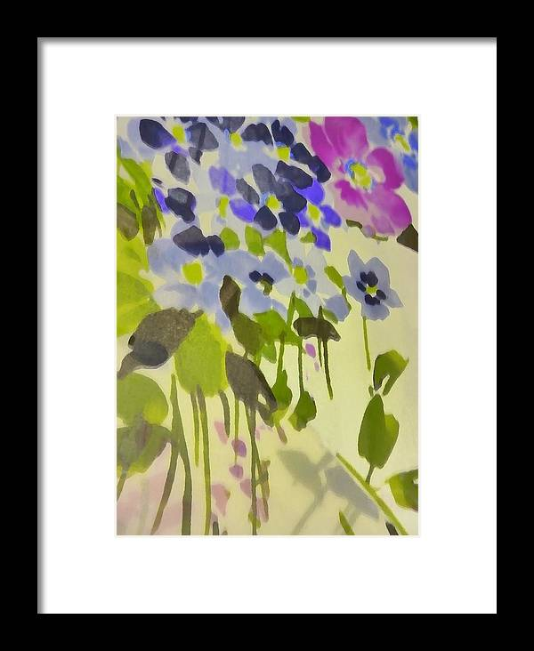 Botanical Framed Print featuring the photograph Floral Vines by Florene Welebny