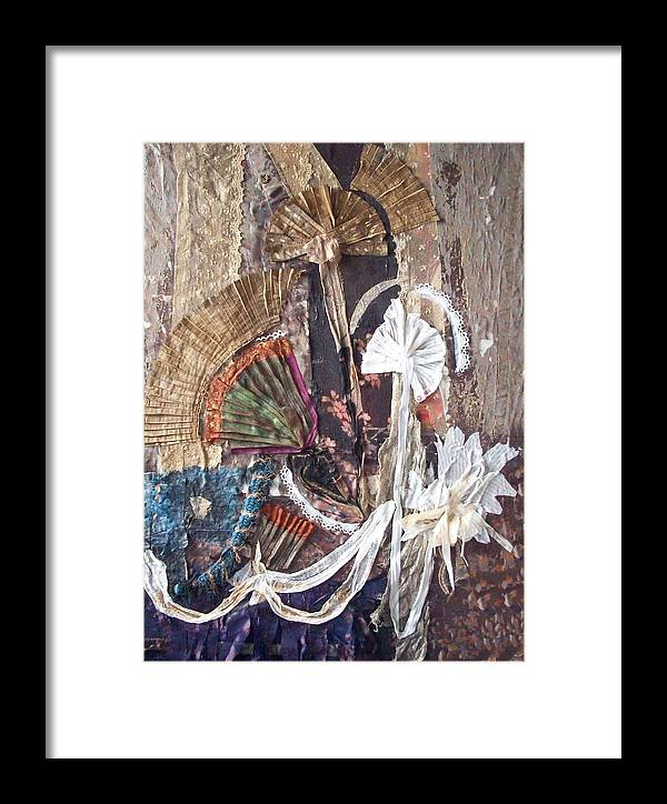 Flowers Framed Print featuring the mixed media Floralis Victoria by Helene Champaloux-Saraswati