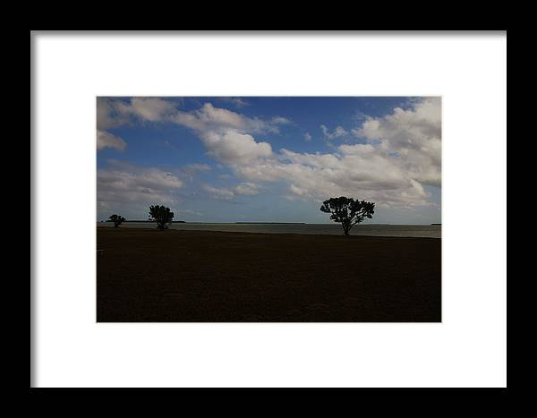 Landscape Framed Print featuring the photograph Florida Keys by Dennis Curry