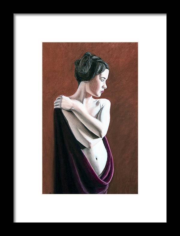 Joe Ogle Framed Print featuring the painting Flow by Joseph Ogle