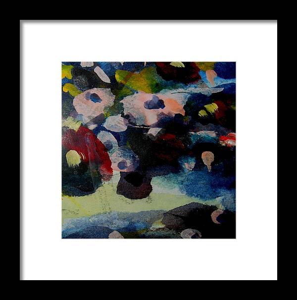 Flower Landscape Framed Print featuring the photograph Flower Dreams by Belinda Consten