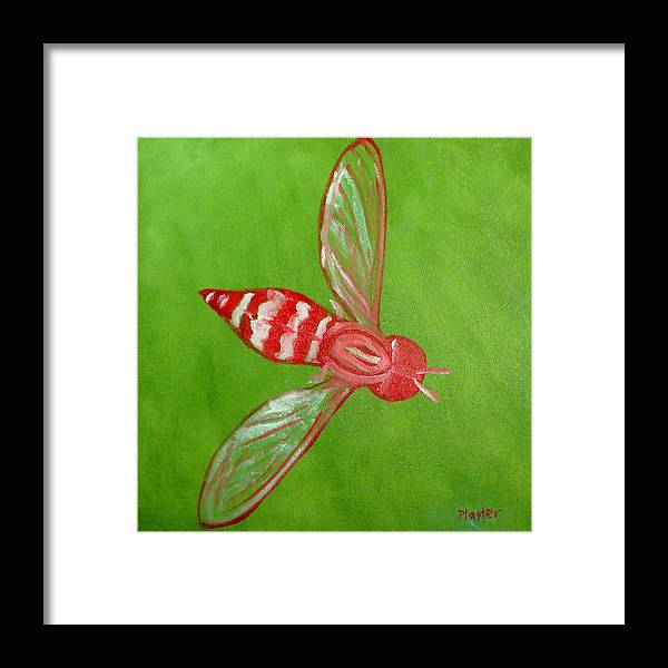 Flies Framed Print featuring the painting Fly East by Scott Plaster