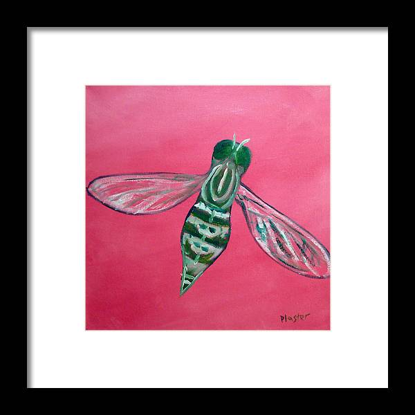Flies Framed Print featuring the painting Fly North by Scott Plaster