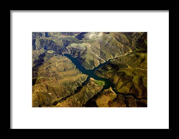 Jez C Self Framed Print featuring the photograph Flying Lake by Jez C Self