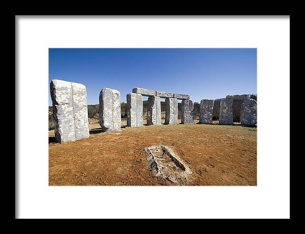 Foam Framed Print featuring the photograph Foamhenge by Tom McElvy