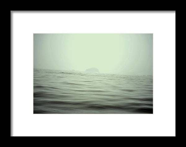 Waterscape Framed Print featuring the photograph Foggy by Evelina Popilian