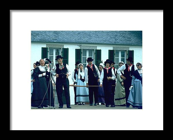 Tradition Framed Print featuring the photograph Folk Music by Flavia Westerwelle