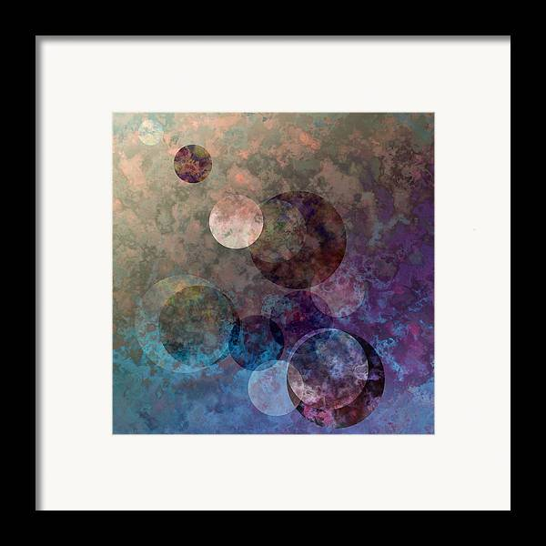 Framed Print featuring the digital art Follow Me by Gae Helton
