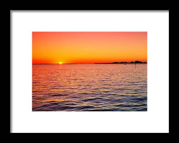 Boat Framed Print featuring the photograph Follow Me Home by Florene Welebny