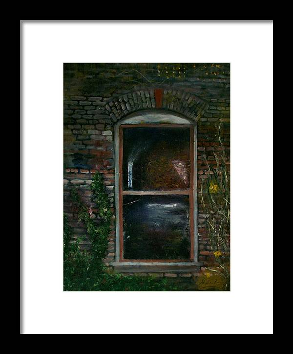 Landscape Framed Print featuring the painting For Rent by Stephen King