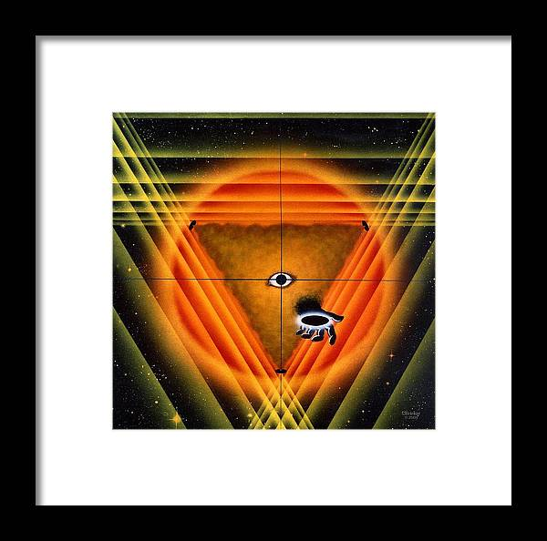 Painting Framed Print featuring the painting For The Children Of The Sun by Scott Bricker