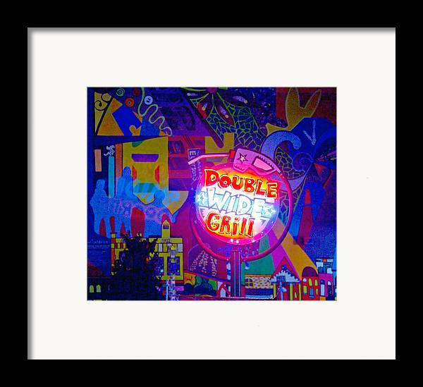 Pop Art Framed Print featuring the photograph For Van Cordle My Friend by John Toxey