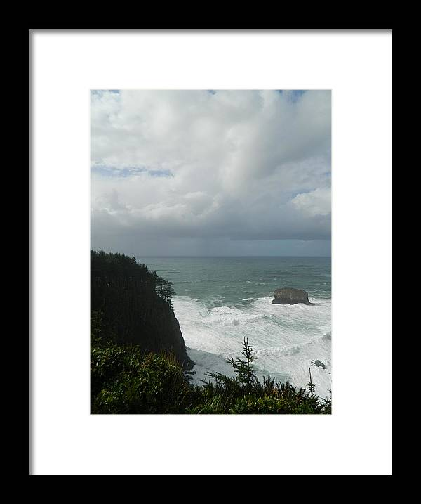 Oregon Framed Print featuring the photograph Force Of Nature by Gallery Of Hope