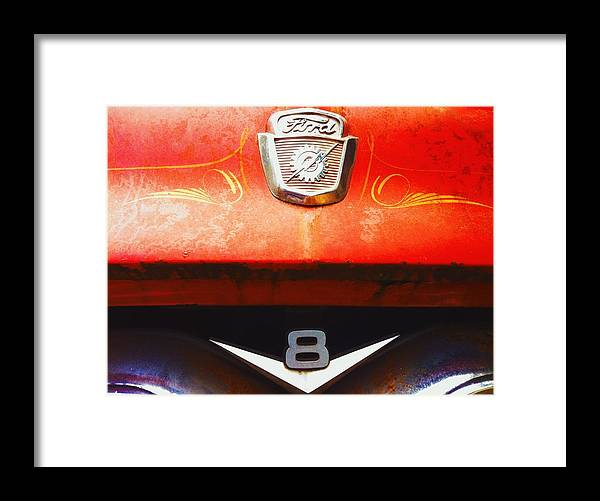 Ford Framed Print featuring the photograph Ford - 8 by Eddie G