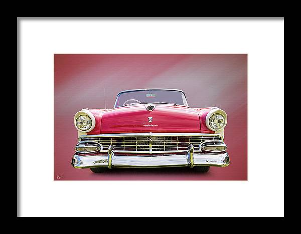 Car Framed Print featuring the photograph Ford Fairlane by Keith Hawley