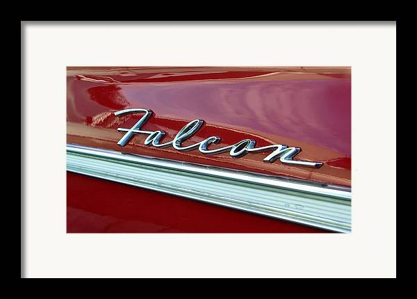 Fine Art Photography Framed Print featuring the photograph Ford Falcon by David Lee Thompson