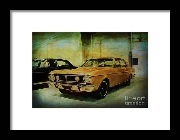 Ford Framed Print featuring the photograph Ford Falcon Xt Gt by Stuart Row