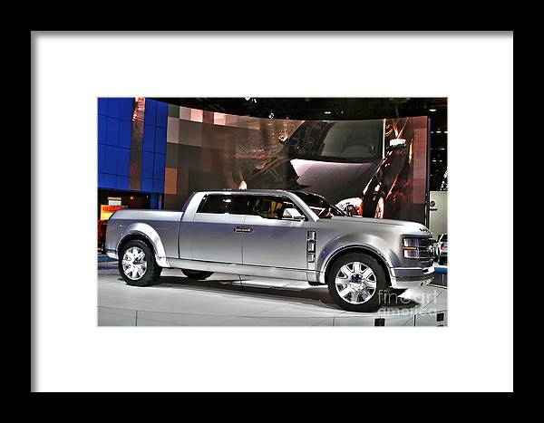 Automotive Framed Print featuring the photograph Ford Super Chief Concept by Alan Look