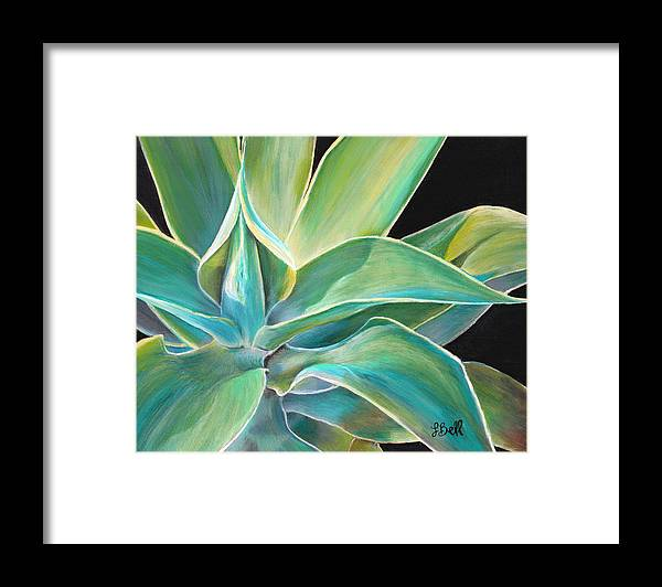 Agave Framed Print featuring the painting Foregone Conclusion by Laura Bell