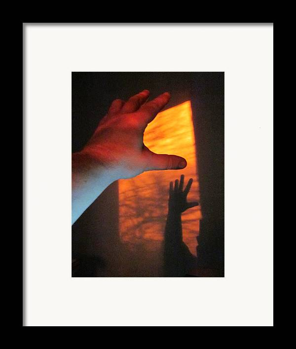 Guy Ricketts Photography Framed Print featuring the photograph Forever Living Hands by Guy Ricketts